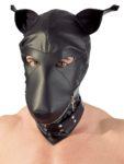 Kopfmaske in Hundeoptik