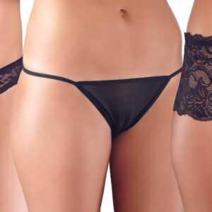 3-teiliges Set mit Panties ouvert