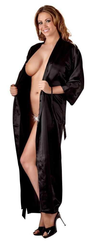 Kimono mit halblangem Arm und Bindegürtel