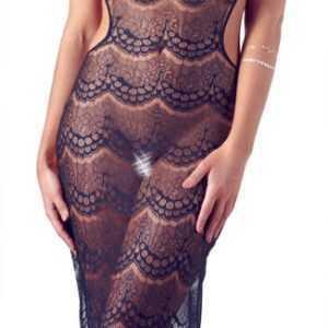 Kleid aus Spitze und Tüll