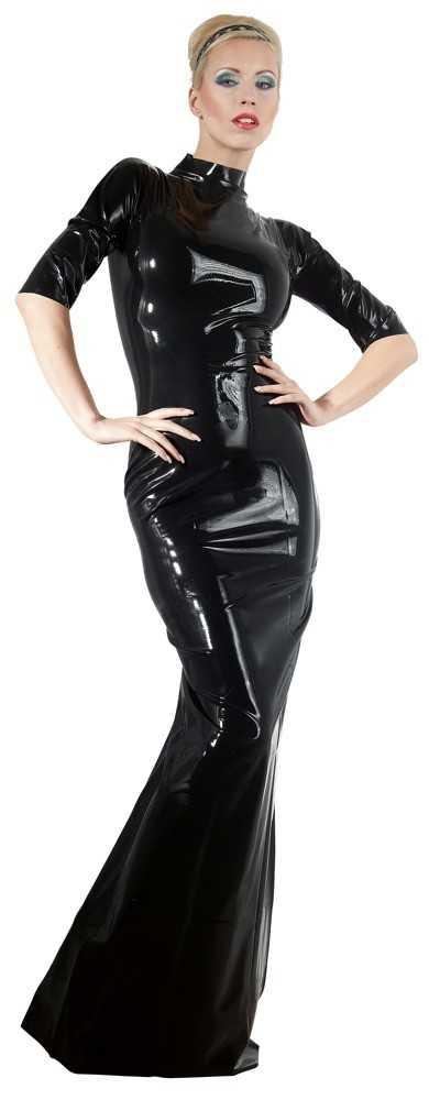 Kleid aus Latex