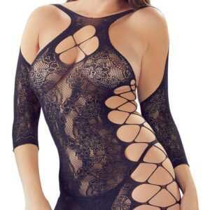 Kleid plus Spitzen-String