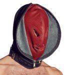 Doppelmaske aus Echtleder