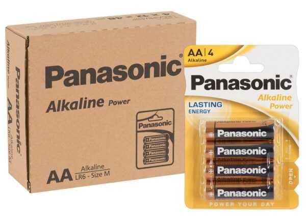 12 x 4er Batterie AA