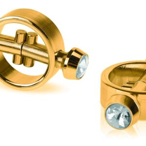 """Nippelklammern """"Magnetic Clamps Gold"""""""