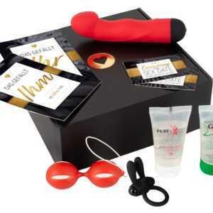 "5-teiliges Paket ""Sex Date Box"" mit Vibro-Toys"