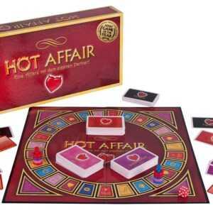 """Brettspiel """"Hot Affair"""" für Paare"""