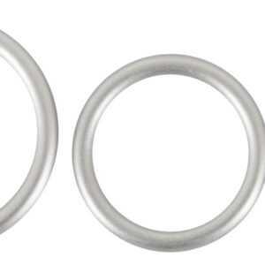 """3-teiliges Penisring-Set """"Metallic Silicone Cock Ring Set"""""""